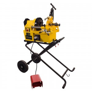 Steel Dragon Tools® 7090 Pro Pipe Threading Machine with Cart