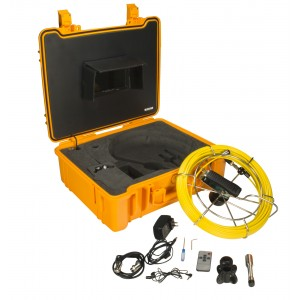 Steel Dragon Tools® Waterproof Pipe Inspection Camera with DVR and 130 FT Cable