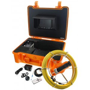 Steel Dragon Tools® Model 915CD Pipe Inspection Camera with DVR and 130 FT Cable