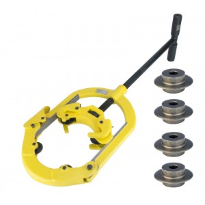 Steel Dragon Tools® H6 Pipe Cutter with REED® H6I6-8 Cutter Wheels