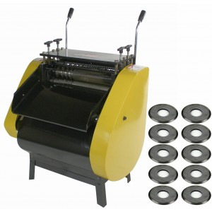 Steel Dragon Tools® WRA40R Auto Wire Striping Machine with 10 Cutting Wheels