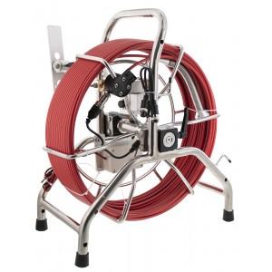 Steel Dragon Tools® 714DC Fiberglass 200 ft. Cable and Aluminum Reel