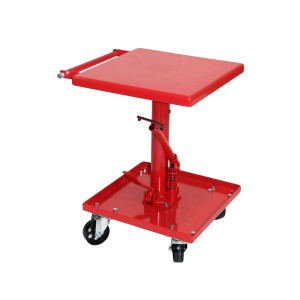 Dragway Tools 220 lb Capacity Adjustable Hydraulic Lift Table