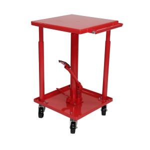 Dragway Tools 550 lb Capacity Adjustable Hydraulic Lift Table