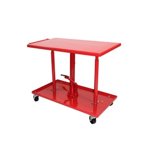 Dragway Tools 1100 lb Capacity Adjustable Hydraulic Lift Table
